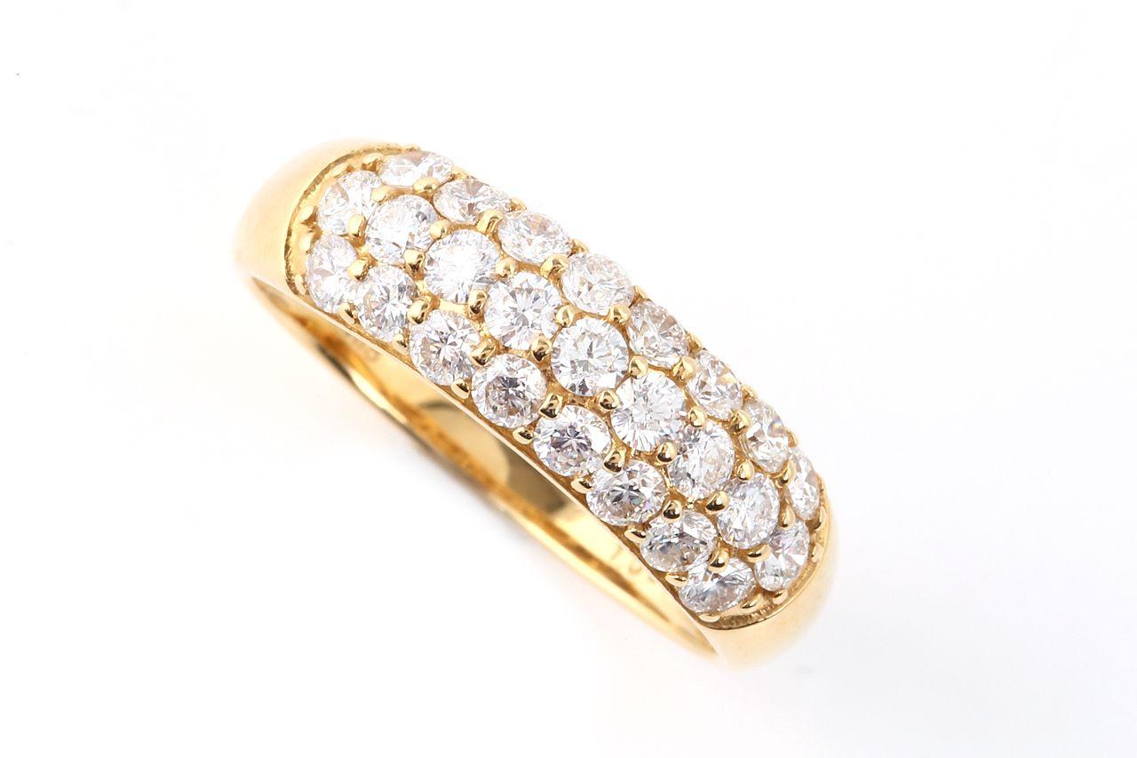 18金 ダイヤモンド パヴェリング 1.0ct(NS1421004A)