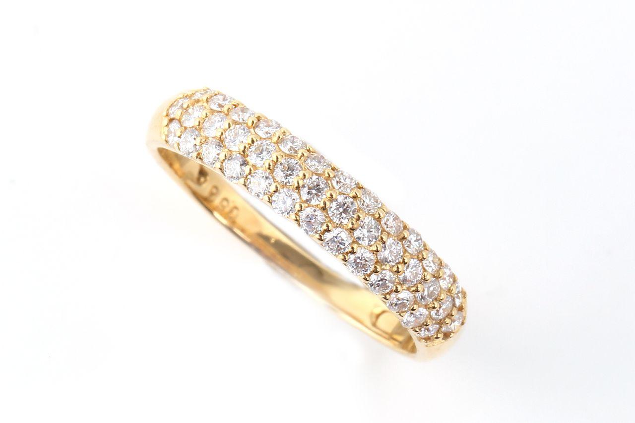 18金 ダイヤモンド パヴェリング 0.5ct (NS1321117A)